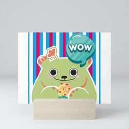Ice Cream Cactus Ball Mini Art Print