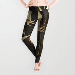 Franz Sedlacek Blooms And Insects I Leggings