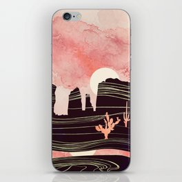 Rose Desert iPhone Skin