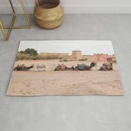 Desert Life III - Sahara Desert, Morocco Rug