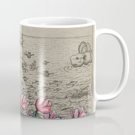 Woman Watching Sea Creatures Coffee Mug