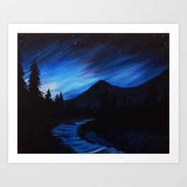 Northern Nights Art Print