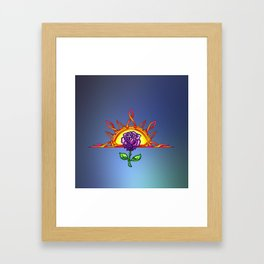 Royal Tudor's Sunrise Framed Art Print