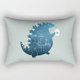 Godzillatte Rectangular Pillow