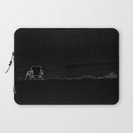 Horizon in Thin Lines Laptop Sleeve