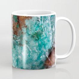 Dark Rust & Teal Quartz Coffee Mug