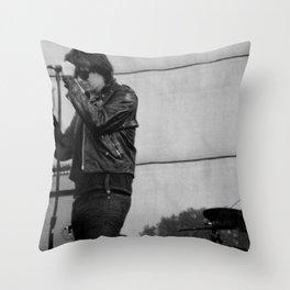 Julian Casablancas - The Strokes at Bonnaroo 2011 Throw Pillow