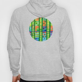 Colored Fields With Bamboo Hoody