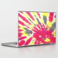 tie dye Laptop & iPad Skins featuring Tie Dye by vidixoxo