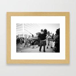 Inauguration Insanity: Washington, DC. Framed Art Print