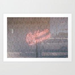 Californa Dreamin' Art Print