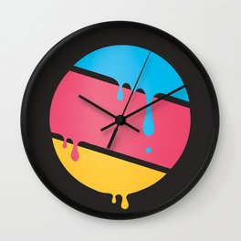 PLANET DROOLE Wall Clock