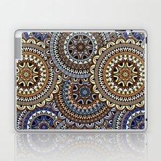Brown Boho Mandela Pattern Laptop & iPad Skin