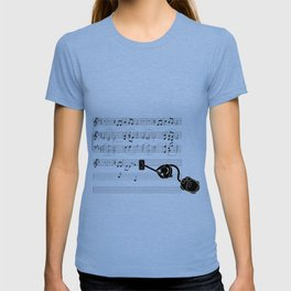 Vacuum sound T-shirt
