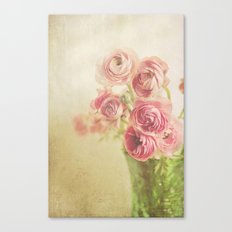 Beauty in a vase.... Canvas Print