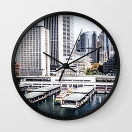 Circular Quay Wall Clock