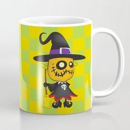 Halloween pumpkin witch Coffee Mug