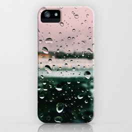 The Raindrops iPhone Case