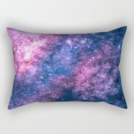 Cotton Candy Milky Way Rectangular Pillow