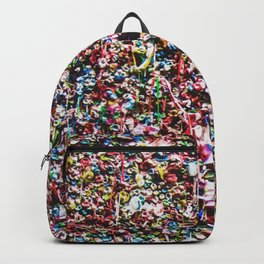 Pop of Color - Seattle Gum Wall Backpack