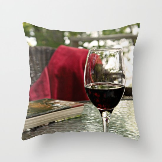 Recipe for Relaxation Throw Pillow