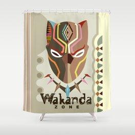 Wakanda Zone Shower Curtain