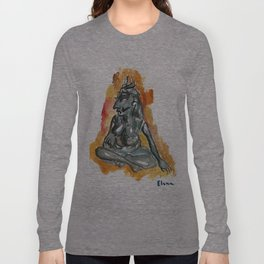 Moon Goddess Long Sleeve T-shirt