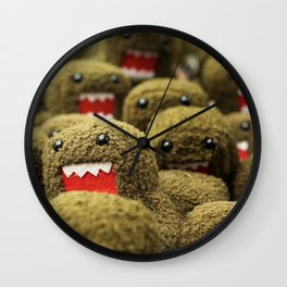 Domo Attacks! Wall Clock