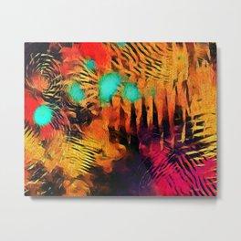 Acid Storm Metal Print