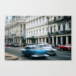 Speeding Through Time Canvas Print