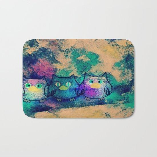 owl-258 Bath Mat