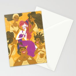 She Won't Say It Stationery Cards