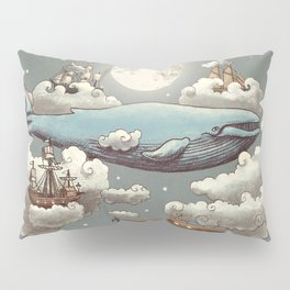Ocean Meets Sky Pillow Sham