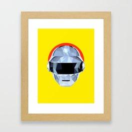 Daft Low Poly Punk Framed Art Print