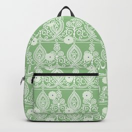 Gypsy Lace in Green Backpack