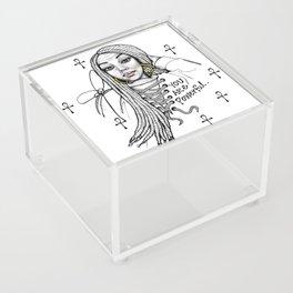 #STUKGIRL ASHLITA Acrylic Box