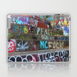 Graffiti in the wild Laptop & iPad Skin