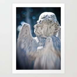 Angelic Light Art Print