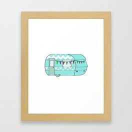 Caravan Version Ten Framed Art Print