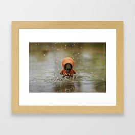 The Rain KILLED KENNY!  Framed Art Print