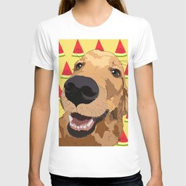 Golden Retriever Dog-Watermelon T-shirt