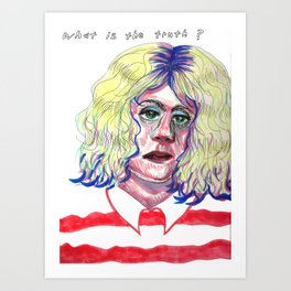 You can't handle it Art Print