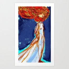Autumn soul Art Print
