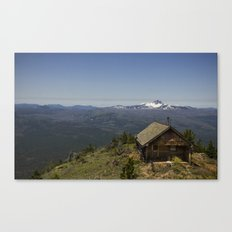 Summit of Black Butte at 6500 ft.  Sisters, OR Canvas Print