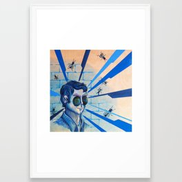 Fly on the Wall: Complete Framed Art Print
