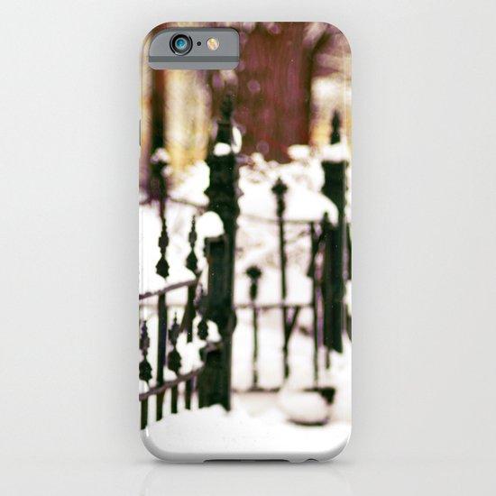 November Snow iPhone & iPod Case