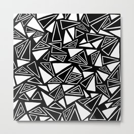 Triangles Forever  Metal Print