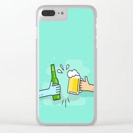 Beer understands! Clear iPhone Case