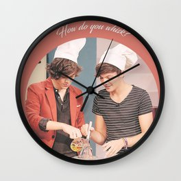 How do you whisk? Wall Clock