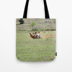 Rolling Horse Tote Bag